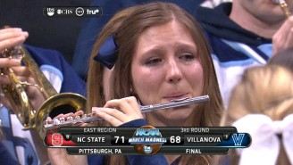 Villanova's Crying Piccolo Player Is The Saddest Band Member In America