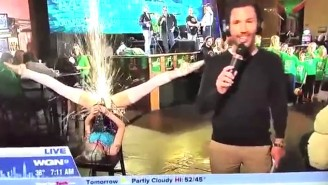 This St. Patrick's Day News Blooper Went Horribly NSFW In A Hurry As Children Looked On