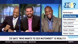 Watch Alonzo Mourning Confirm The Urban Legend Known As 'Who Wants To Sex Mutombo?'
