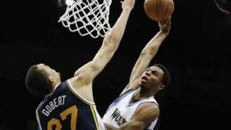 Unstoppable Force, Immovable Object: Andrew Wiggins And Rudy Gobert Meet At The Mountain Top