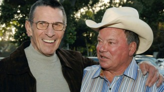 William Shatner Joined Fans On Twitter To Remember Leonard Nimoy