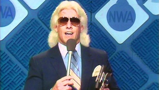 Ric Flair Talked About Today's T-Shirt Schlepping Wrestlers Not Being Able To Touch His Style