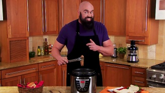 Gene Snitsky Is Back With A Horrifying New Beard And More Dude Food Pressure Cooker Recipes