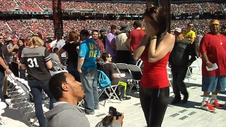Watch This Champion At Life Propose To His Girlfriend At WrestleMania 31