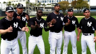 Watch The New York Yankees Recreate A Classic Scene From 'The Sandlot'