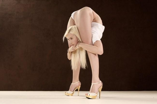 Zlata - The World's Most Flexible Woman