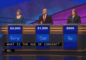 Things Got Horribly Awkward On 'Jeopardy!' With This One Answer
