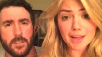 Watch Kate Upton And Justin Verlander Recreate A Scene From 'Step Brothers'