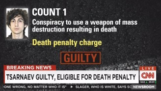 Boston Marathon Bomber Dzhokhar Tsarnaev Was Found Guilty And Is Eligible For Death Penalty
