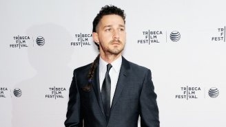 What's The Deal With Shia LaBeouf's New Jedi-Esque Braided Rattail?