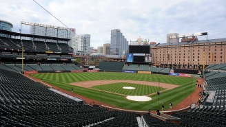 The Orioles Will Play Tomorrow's Game In An Empty Stadium Due To The Unrest In Baltimore