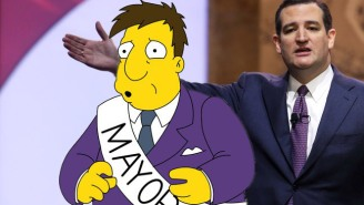 Ted Cruz Might Be A Huge Fan Of 'The Simpsons,' But The Minds Behind The Show Don't Love Him Back
