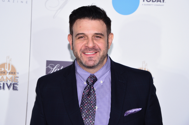 Adam Richman is so skinny now
