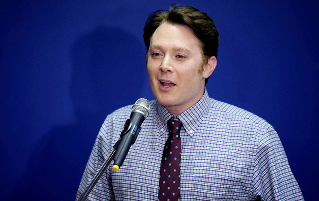 Congressional Candidate Clay Aiken Attends His Midterm Election Night Party