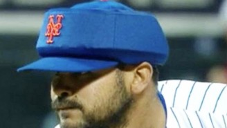 Alex Torres Has A Pretty Simple Reason For Wearing This Odd Looking Cap