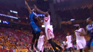 Watch Al-Farouq Aminu Posterize Clint Capela With A Monster Dunk