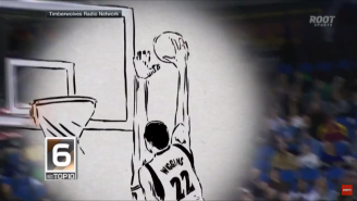 Watch This Spectacular Animated Version Of The 10 Top Plays Of The NBA Season