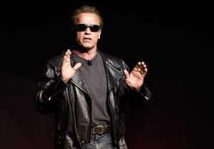 Zoolander steals the spotlight from The Terminator at Paramount's CinemaCon panel