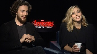 Aaron Taylor-Johnson perfected the skid for 'Avengers: Age of Ultron'
