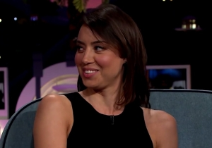 Aubrey Plaza Had A Pirate For A Roommate While Living In Ghana