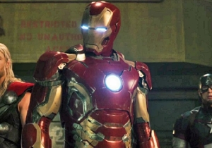 Ultron And Scarlet Witch Bring The Snark In An All-New 'Avengers: Age Of Ultron' Clip