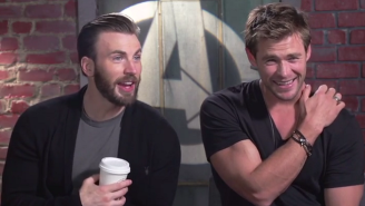 The 'Avengers' Cast Guesses Their Co-Stars From Pictures Of Their Biceps