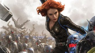 One Of Black Widow's Coolest 'Avengers: Age Of Ultron' Scenes Was Turned Into A Toy — Without Black Widow