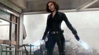 Watch Black Widow Beat Ultron With Cap's Mighty Shield In This Final 'Avengers: Age Of Ultron' Trailer