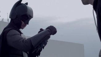 Watch This Guy Test Out His Fully-Functional Batman Suit