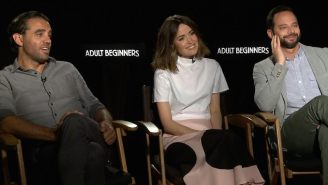 Bobby Cannavale and Rose Byrne on comic failure: 'Did you see 'Annie'?'