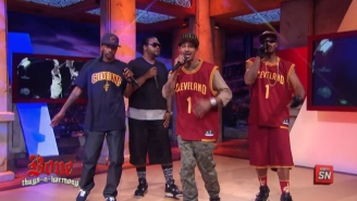 Watch Bone Thugs-N-Harmony Eulogize Spurs Center Aron Baynes After Being Destroyed By Blake Griffin
