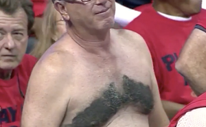 This Pelicans Fan Put A Disturbing Tribute To Anthony Davis On His Chest