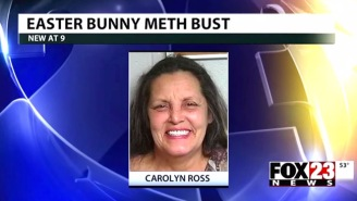 This Easter Bunny Surprised Police With $30,000 Of Delicious Meth