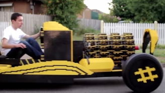 Check Out This Guy's Car That He Built Entirely Out Of Legos