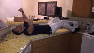 Sacramento Kings' Rookie Nik Stauskas Gets His Apartment Popcorn-Bombed