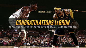 LeBron James Passes Patrick Ewing On The NBA's All-Time Scoring List