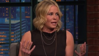 Chelsea Handler Tried Edible Marijuana For The First Time And Was Unable To Remove Her Sunglasses
