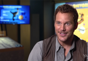 Chris Pratt Gives Us A Behind-The-Scenes Tour Of 'Jurassic World' In This Exclusive Clip