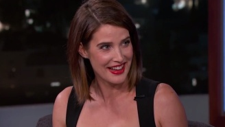 Cobie Smulders Talks Getting Dressed For The 'Avengers' Premiere In The Car