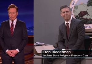 Conan O'Brien and Chris Parnell just brilliantly mocked Indiana