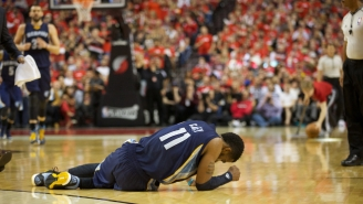 There Is 'No Timetable' For Mike Conley's Return Following Surgery For Facial Fracture
