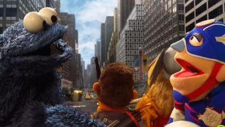 Cookie Monster saves the day in Sesame Street's 'A-Veggies: Age of Bon Bon'