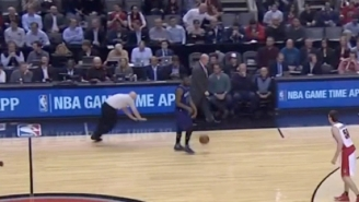 Let's All Watch And Laugh As Referee Joey Crawford Trips And Falls