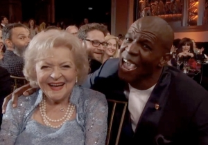 Here Is Terry Crews Singing 'The Golden Girls' Theme Song To Betty White