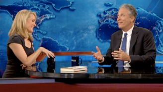 Jon Stewart Told Dana Perino That A Mashup Of 'The Daily Show' And 'The Five' Would Be 'Like A 'Sh*t Taco'