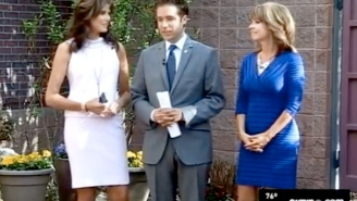 Watch This Awkward Exchange Between Two News Anchors: 'Don't Ever Touch Me Again'