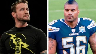 Shawne Merriman Wants To Make CM Punk Feel Pain Over A 4-Year-Old Twitter Feud