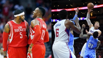 Who Runs The Big-To-Big Alley-Oop Better: Josh Smith And Dwight Howard Or Blake Griffin And DeAndre Jordan?