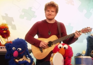 Ed Sheeran Stopped By Sesame Street To Teach Us All About School Rules