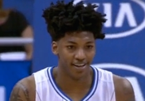 Elfrid Payton Follows Epic And-1 Tip Dunk With Hideous Banked-In 3-Pointer